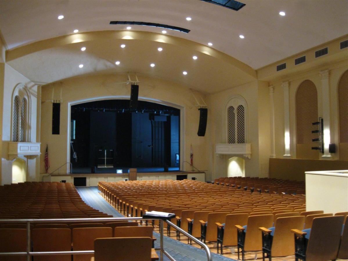 El Segundo High School Auditorium Tk1sc
